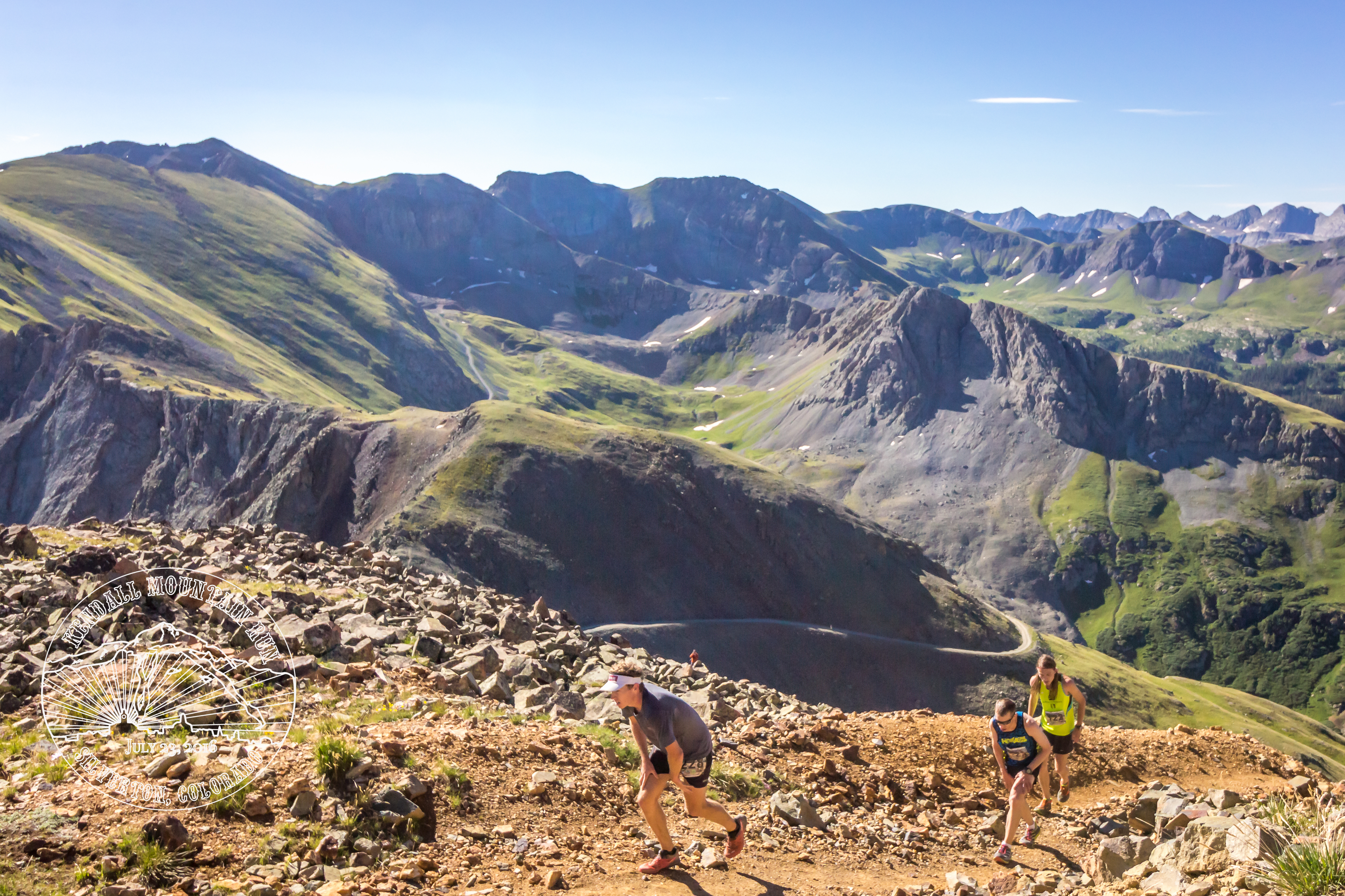 Dakota Jones, Timmy Parr, & Tate Lagasca at the 2016 Kendall Mountain Run